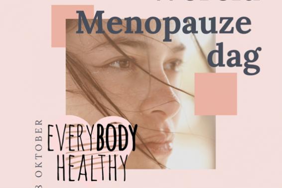 Wereld Menopauzedag 18 oktober